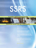 SSRS Complete Self-Assessment Guide