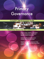 Primary Governance Complete Self-Assessment Guide