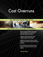Cost Overruns The Ultimate Step-By-Step Guide