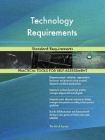 Technology Requirements Standard Requirements