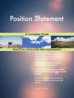 Position Statement A Complete Guide
