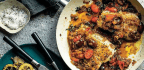 Pan-fried Haddock With Olives And Tomatoes