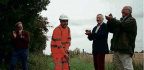 'First Sod' Cut On Mid Suffolk Line Extension