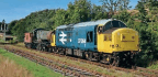 Forgotten GWR 2-8-0 leaves Moors Line for Llangollen