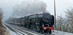 Snow Chaos And 'Big End' Woes Mar Oliver Cromwell Farewell