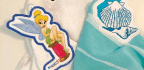 Applique Towel Topper