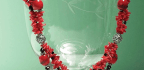 Coral and Necklace