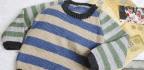 Boy's Contrast Sleeve Jumper