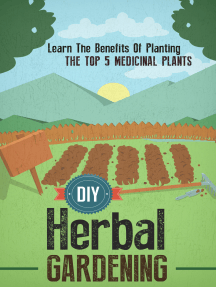 DIY Herbal Gardening: Discover The Top 7 Herbal Medicinal Plants That You Can Grow In Your Backyard And Their Benefits And Uses