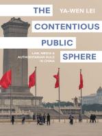 The Contentious Public Sphere