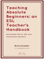 Teaching ESL Beginners