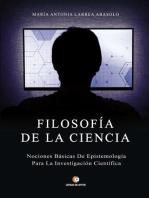Filosofía de la Ciencia: Nociones básicas de epistemología para la investigación científica