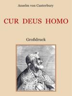 Cur Deus Homo oder Weshalb Gott Mensch wurde