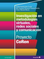 Investigación en metodologías virtuales, redes sociales y comunicación