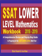 SSAT Lower Level Mathematics Workbook 2018 - 2019