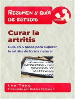 Resumen Y Guía De Estudio – Curar La Artritis