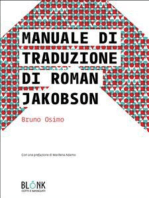 Manuale di traduzione di Roman Jakobson