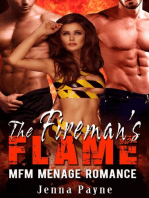 The Fireman's Flame - MFM Menage Romance