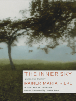 The Inner Sky: Poems, Notes, Dreams: A Bilingual Edition