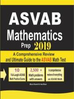 ASVAB Mathematics Prep 2019