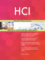 HCI Standard Requirements