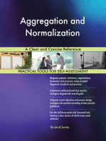 Aggregation and Normalization A Clear and Concise Reference