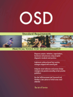 OSD Standard Requirements