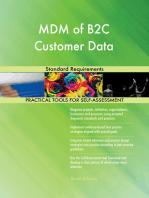 MDM of B2C Customer Data Standard Requirements