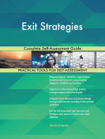 Exit Strategies Complete Self-Assessment Guide