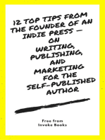 12 Top Tips from the Founder of an Indie Press