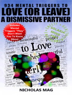 934 Mental Triggers to Love (or Leave) a Dismissive Partner