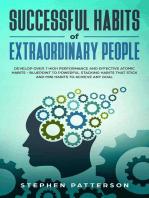 Successful Habits of Extraordinary People