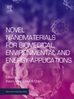 Novel Nanomaterials for Biomedical, Environmental and Energy Applications
