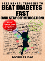 1422 Mental Triggers to Beat Diabetes Fast (and Stay Off Medication)