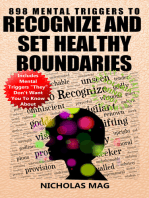 898 Mental Triggers To Recognize And Set Healthy Boundaries