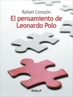 El pensamiento de Leonardo Polo