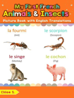 My First French Animals & Insects Picture Book with English Translations