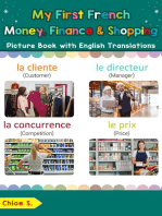 My First French Money, Finance & Shopping Picture Book with English Translations