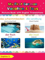 My First German Vacation & Toys Picture Book with English Translations