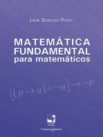 Matemática fundamental para matemáticos