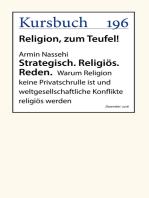 Strategisch. Religiös. Reden.
