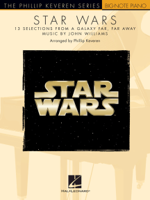 Star Wars: The Phillip Keveren Series Big-Note Piano