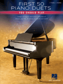 First 50 Piano Duets You Should Play