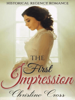 The First Impression - Clean Historical Regency Romance