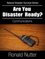 Are You Disaster Ready ? - Communications