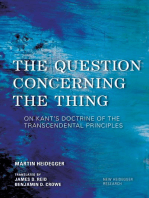 The Question Concerning the Thing