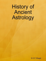 History of Ancient Astrology