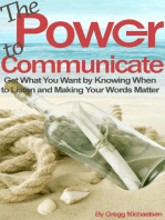The Power to Communicate