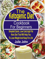 The Ketogenic Diet Cookbook For Beginners