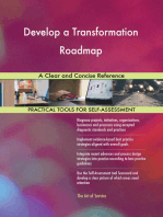 Develop a Transformation Roadmap A Clear and Concise Reference